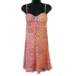 Tommy Bahama Women's Coral Medallion Dress XS
